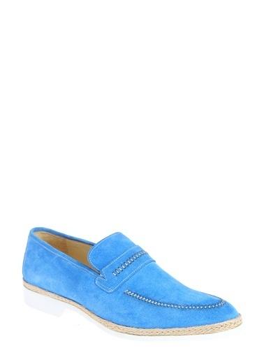 Daffari Loafer Ayakkabı Mavi